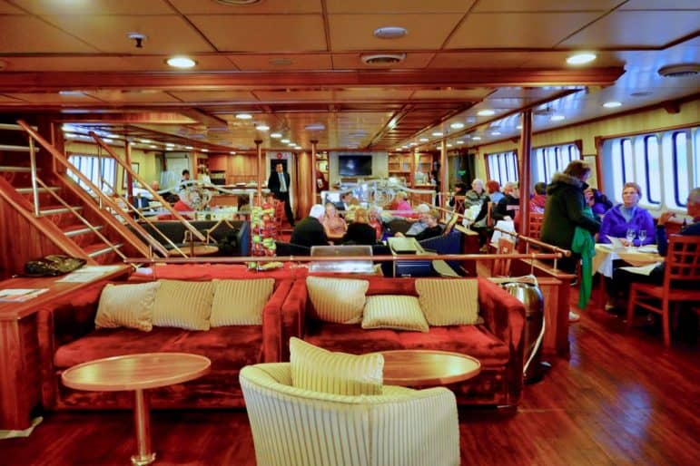 The Main Deck - Dining Room Seating Area - M/S Panorama