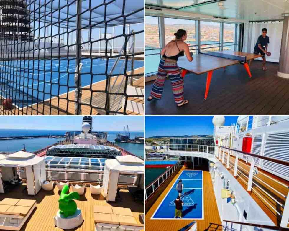 Activities onboard Holland America MS Koningsdam