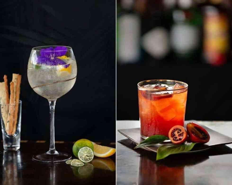 Signature Cocktails at Aperitif Bar