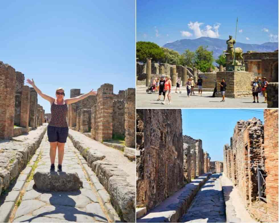 City of Pompeii, Italy