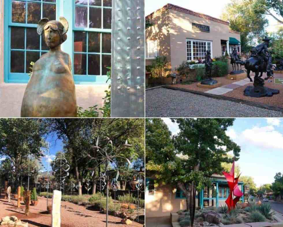 Art Galleries on Canyon Road, Santa Fe