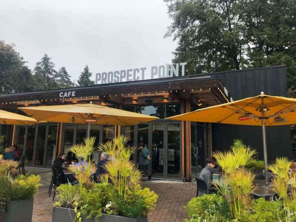 Prospect Point Bar & Grill in Stanley Park