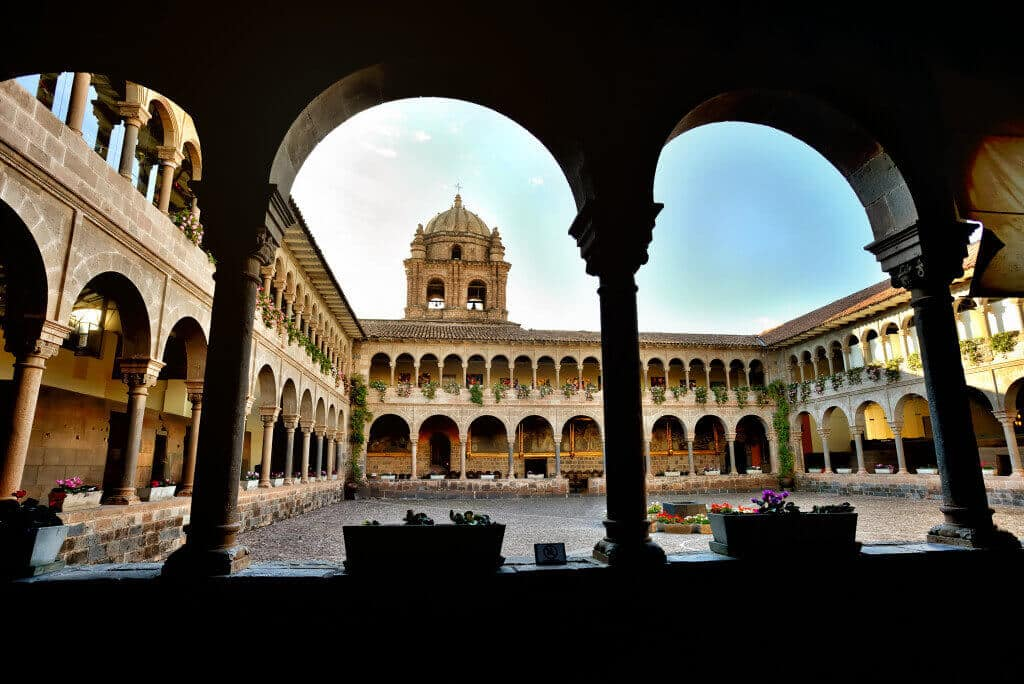 The Convent of Santo Domingo Interior Courtyard, Cusco