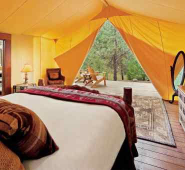 Experience a Luxury Glamping Resort in Montana: Paws Up
