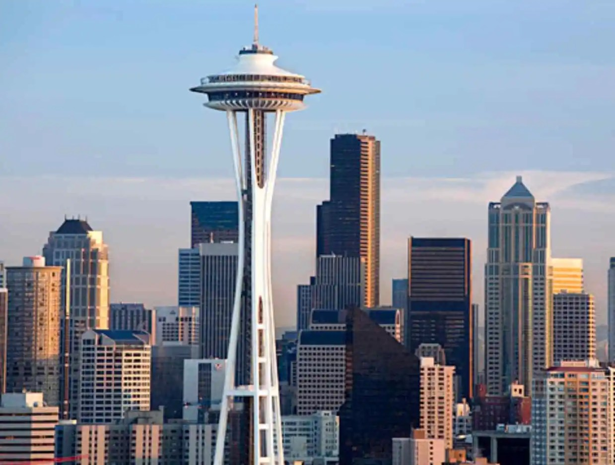 Image result for Space Needle in Seattle