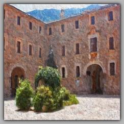 Mallorcan Courtyard