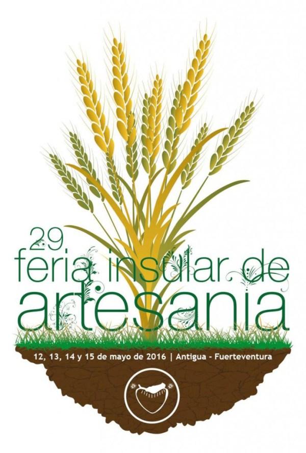 Cartel 29 feria insular de artesanía antigua fuerteventura 2016