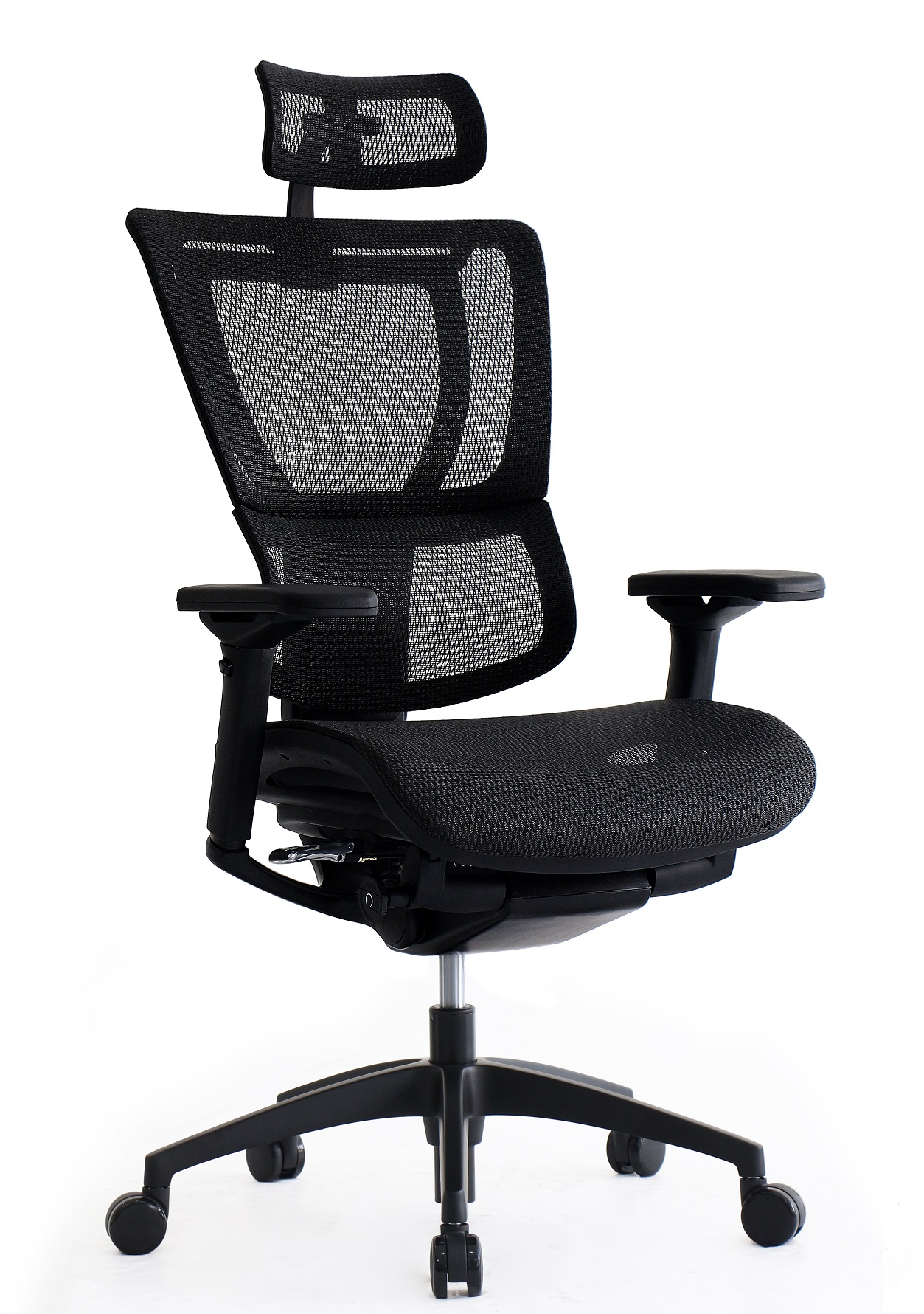 raynor ergohuman chair black and white leather dining chairs office studio drum stools carmichael throne shop eurotech ioo frame with headrest