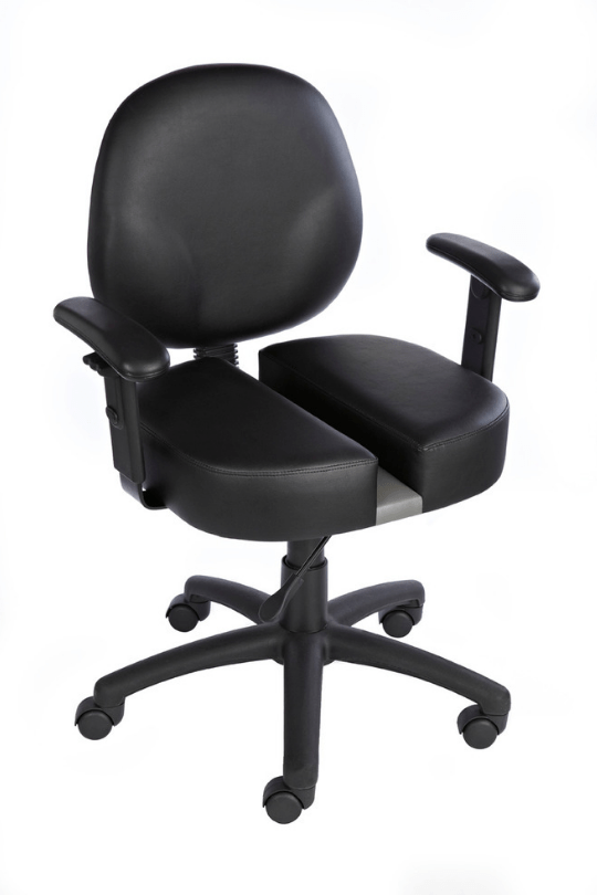 office chair with adjustable arms ikea cushions orthopedic for back pain relief carmichael throne ct9091 diamond task w