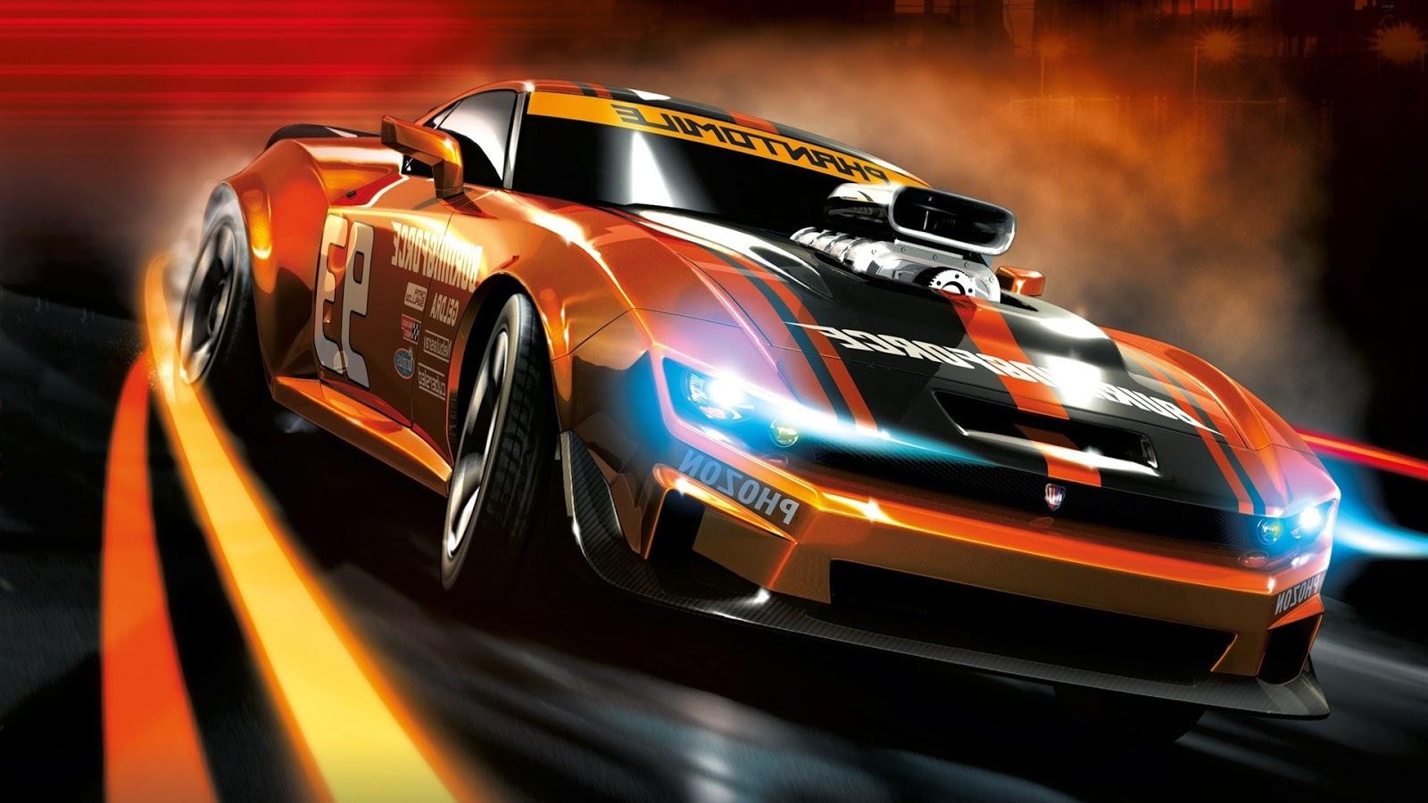 Gambar Wallpaper Modifikasi Mobil Balap Drag Race  Modif