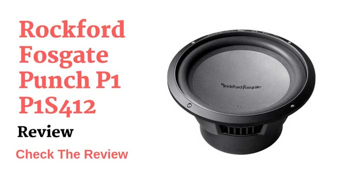Rockford Fosgate Punch P1 P1S412 | Rockford Fosgate Punch Subwoofer Review