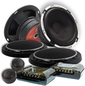 CT Sound 6.5 Inch Component Speaker Set
