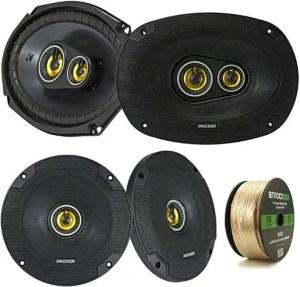 Kicker 2 Pair Car Speaker Package