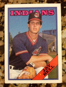 Jay Bell on 1988 Topps card #637