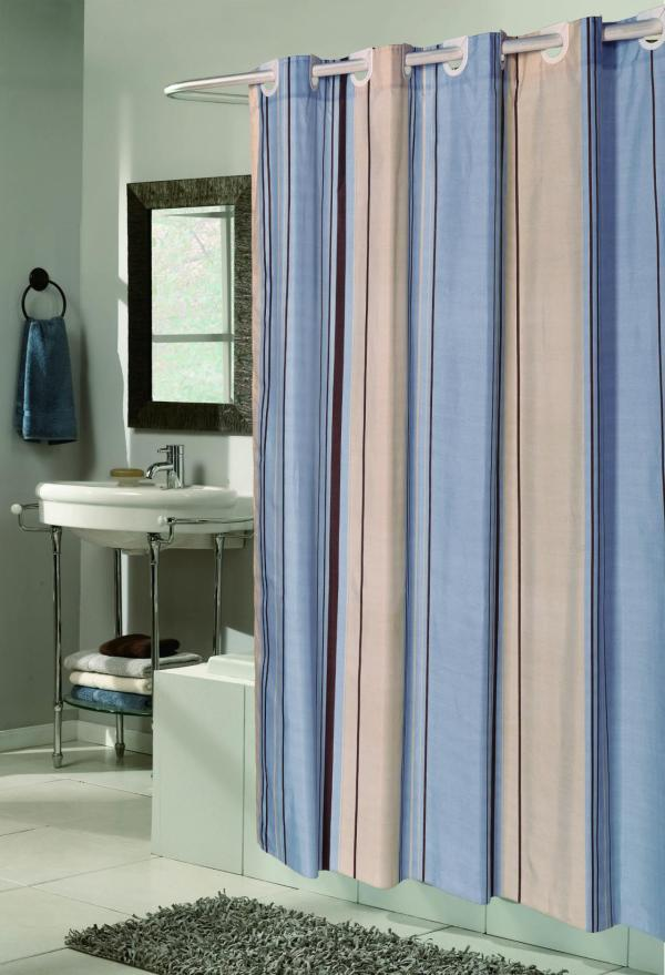 "Carnation Home Fashions - ""ez "" Fabric Shower"