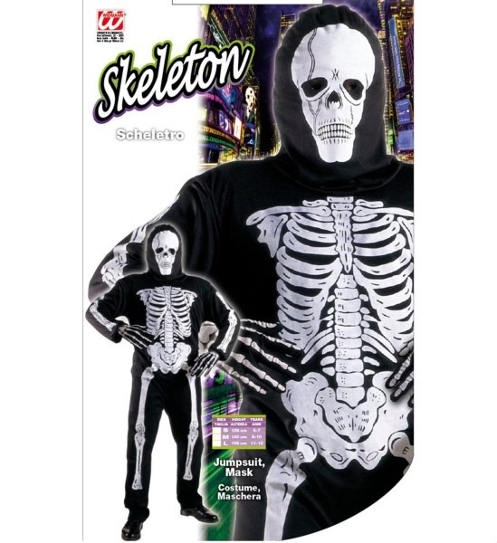 Costum Schelet Skeleton Copii