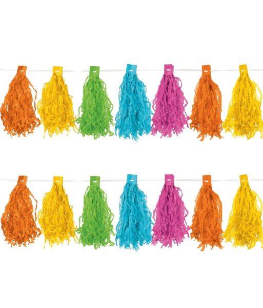Ghirlanda Tassel 3M Multicolora