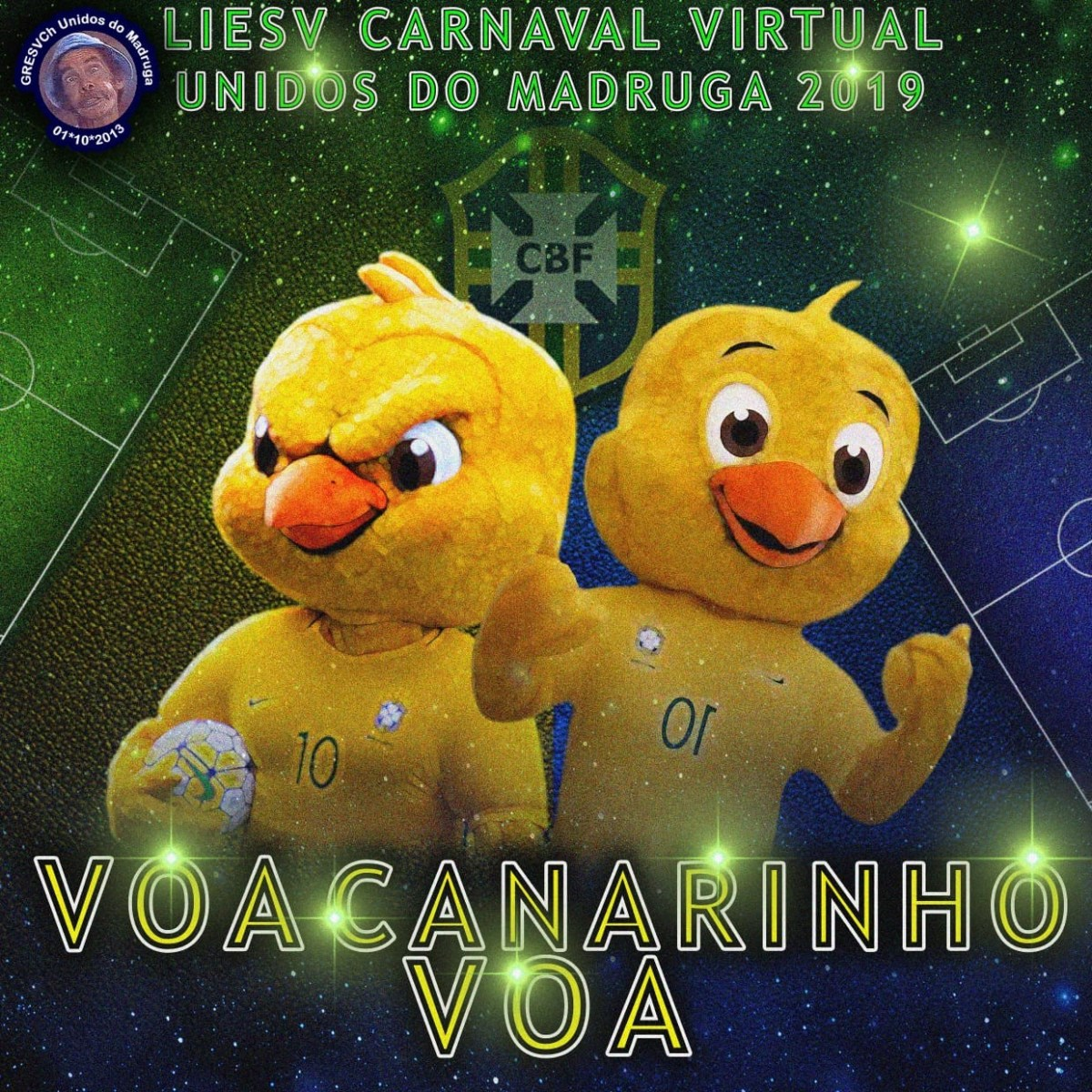 Unidos do Madruga lança sua sinopse pro Carnaval Virtual 2019