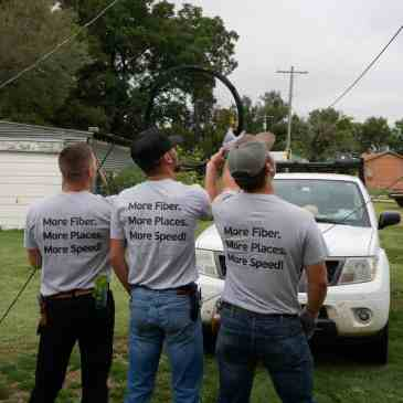 Construction in Fort Cobb: Building a better network for the future!