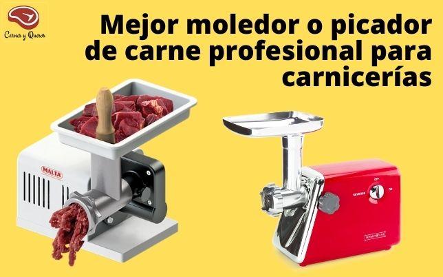 Mejor moledor o picador de carne profesional para carnicerías