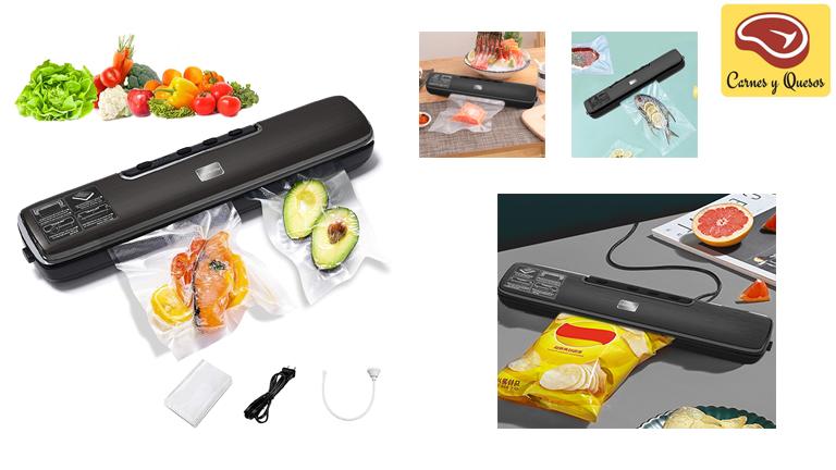 Considerada la mejor marca de envasadora al vacío por algunos, te permite sellar diferentes tipos de alimentos