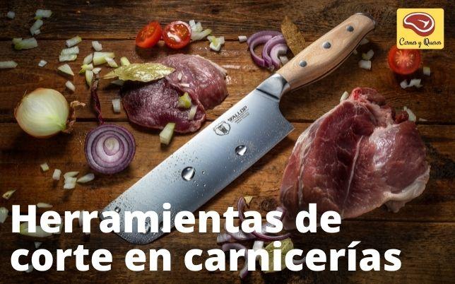 cuchillos herramientas y accesorios carnicerías