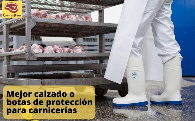 Mejor calzado o botas de protección para carnicería