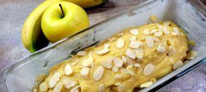 Recette cake pomme banane