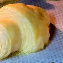 Cuisson croissants au beurre