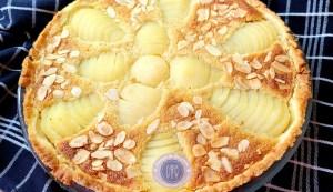 Recette de la tarte Bourdaloue aux poires