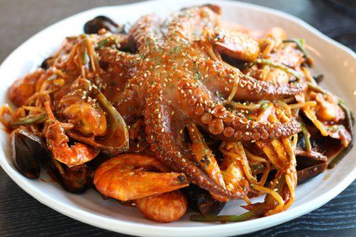 présentation du restaurant à Jeju