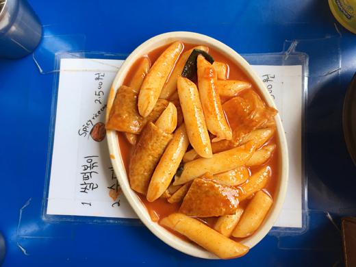 restaurant tteokbokki à bukchon