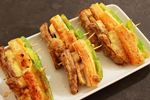 Cuisine coréenne: brochettes coréennes