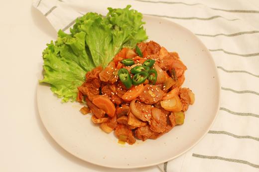 Cuisine coréenne: Jeyuk bokkeum