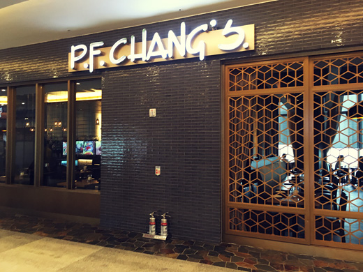 P. F. Chang's: un bistro asiatique à Lotte world mall