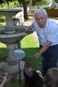 Mr Dreuille et son cadran solaire