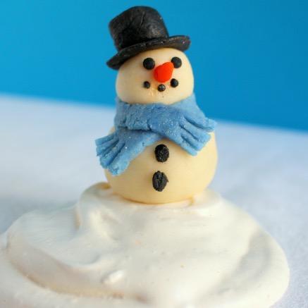 Bonhomme de Neige à Croquer