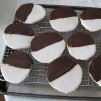 """""""Black & White"""" Cookies HomeMade 🇬🇧"""