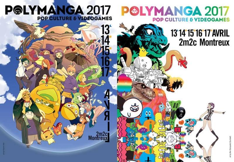 polymanga affiches