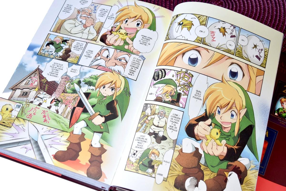 Manga the legend of zelda perfect edition volumes 1 - Link dans zelda ...
