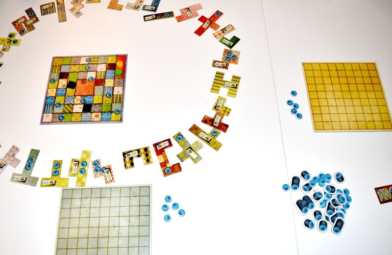 Patchwork jeu Funforge