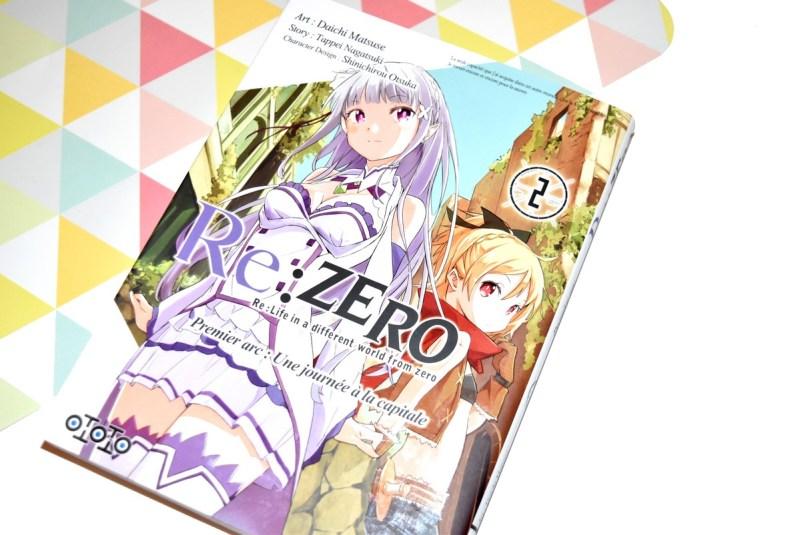 Re Zero Premier Arc Tome 2