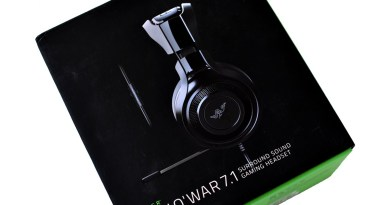 Casque Man O War Razer
