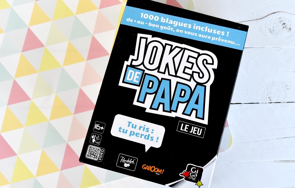 Gigamic Jokes de Papa Jeu d/'ambiance