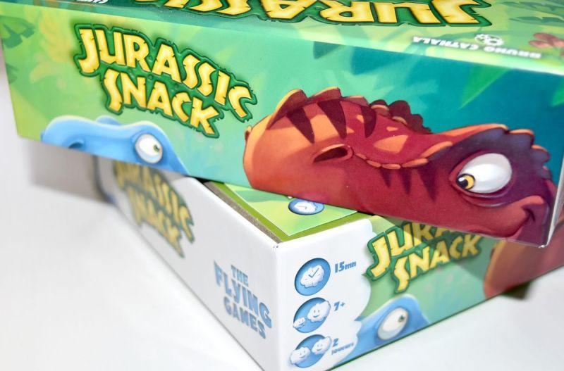 Jurassic Snack Jeu