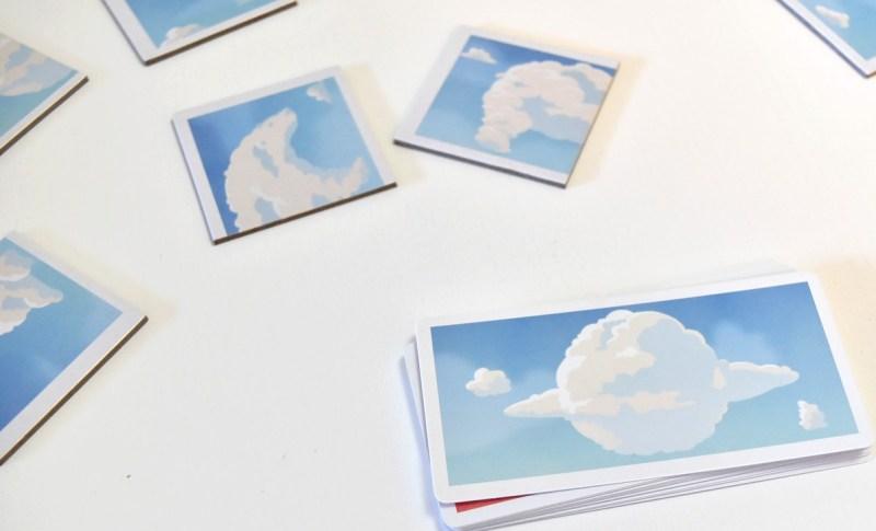 Clouds Blue Orange