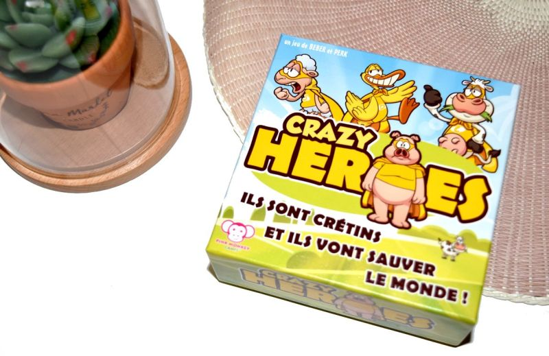 Crazy Heroes Pink Monkey Games