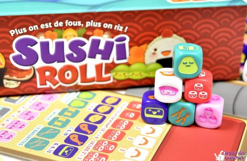 Sushi Roll - Cocktail Games
