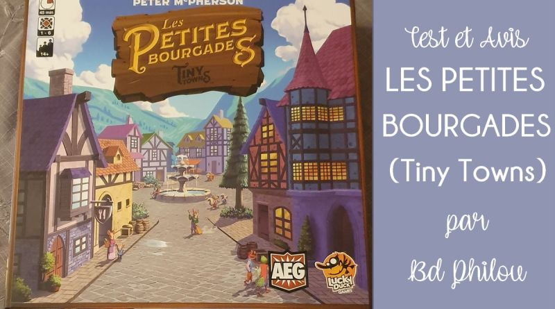 Les Petites Bourgades - Lucky Duck Games