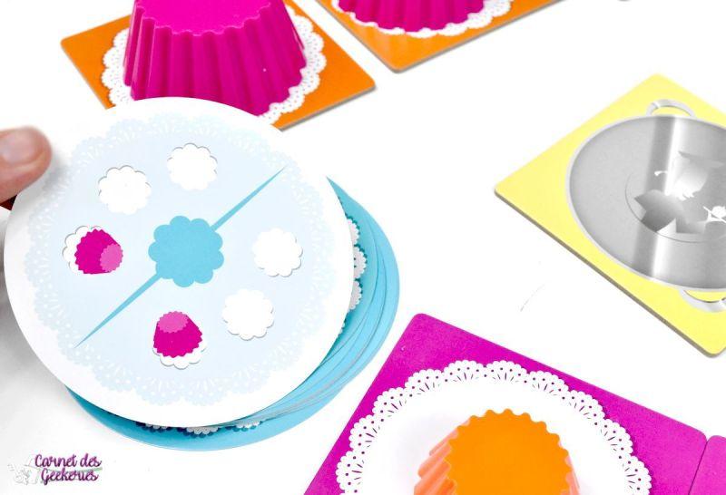 Cupcake Academy - Blue Orange